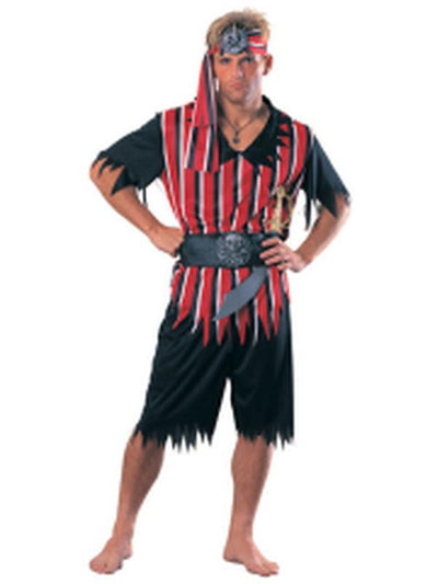 Raider Of The Sea Costume - Size Std-Costumes - Mens-Jokers Costume Hire and Sales Mega Store