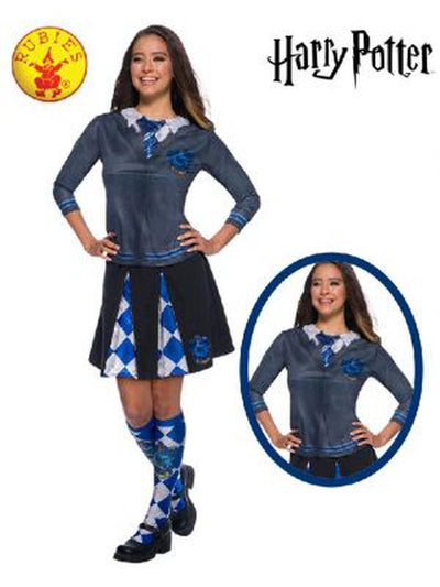 RAVENCLAW COSTUME TOP ADULT-Costumes - Women-Jokers Costume Hire and Sales Mega Store