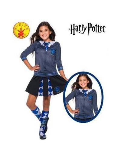 RAVENCLAW COSTUME TOP - SIZE L-Costumes - Girls-Jokers Costume Hire and Sales Mega Store