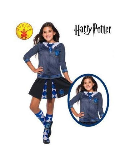 RAVENCLAW COSTUME TOP - SIZE M-Costumes - Girls-Jokers Costume Hire and Sales Mega Store