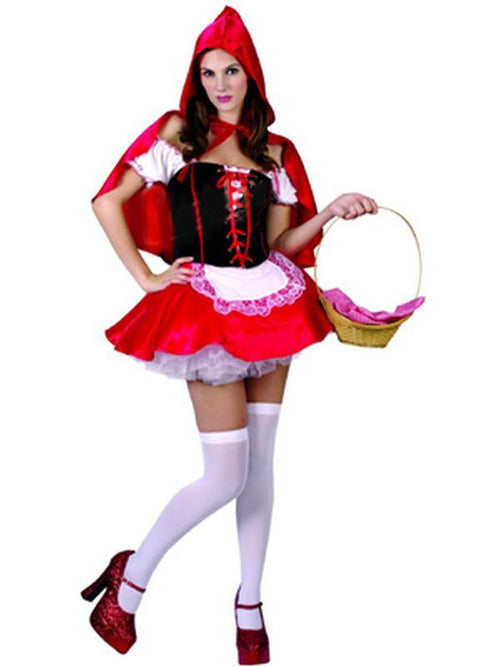 **Red Riding Hood - Adult - Large**-Costumes - Women-Jokers Costume Hire and Sales Mega Store