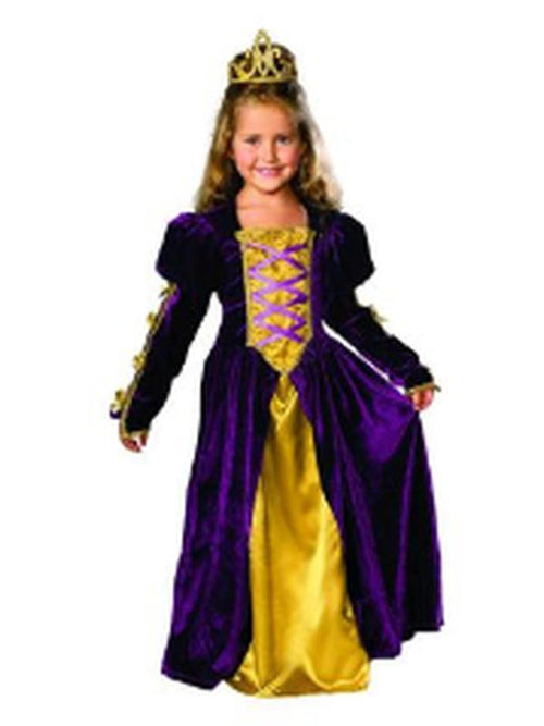 Regal Queen Costume - Size M-Costumes - Girls-Jokers Costume Hire and Sales Mega Store