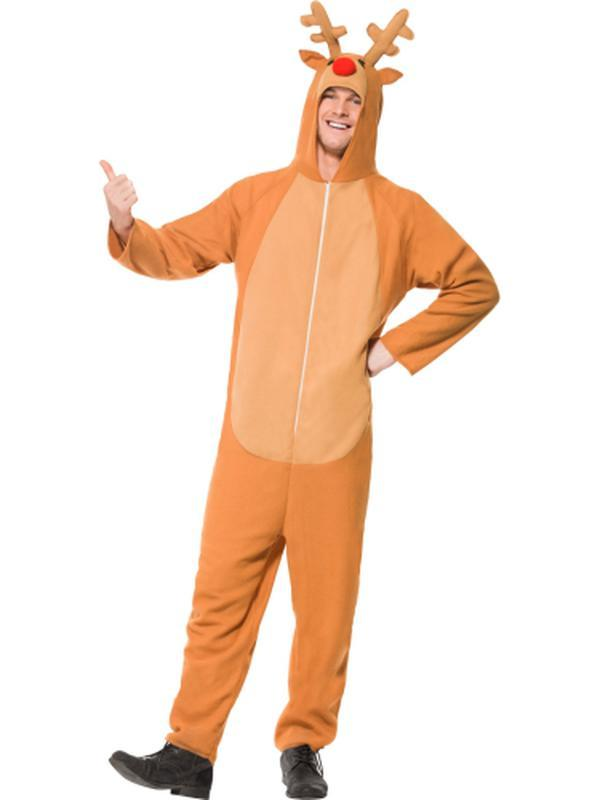 Reindeer Costume.-Costumes - Mens-Jokers Costume Hire and Sales Mega Store