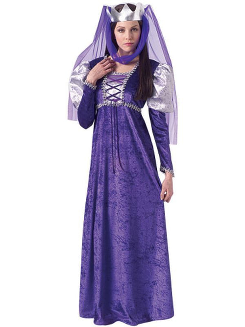Renaissance Queen - Size Std-Costumes - Women-Jokers Costume Hire and Sales Mega Store