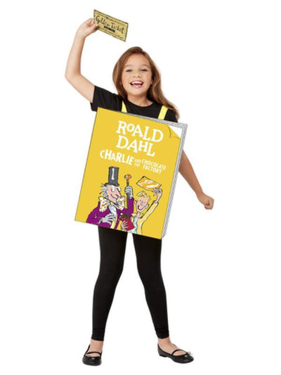 Roald Dahl Charlie and the Chocolate Factory Book-Costumes - Boys-Jokers Costume Mega Store