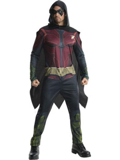 Robin Arkham - Size M-Costumes - Mens-Jokers Costume Hire and Sales Mega Store