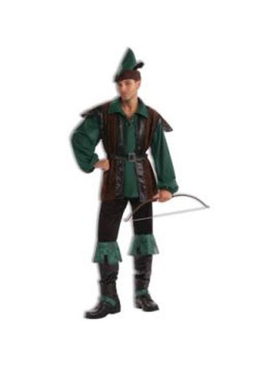 Robin Hood Classic Costume - Size L-Costumes - Mens-Jokers Costume Hire and Sales Mega Store