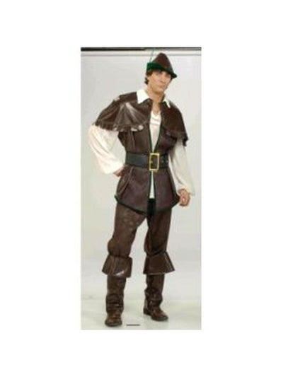 Robin Hood Costume - Size Std-Costumes - Mens-Jokers Costume Hire and Sales Mega Store