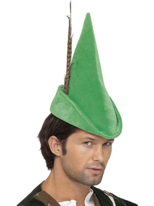 Robin Hood Hat-Hats and Headwear-Jokers Costume Hire and Sales Mega Store