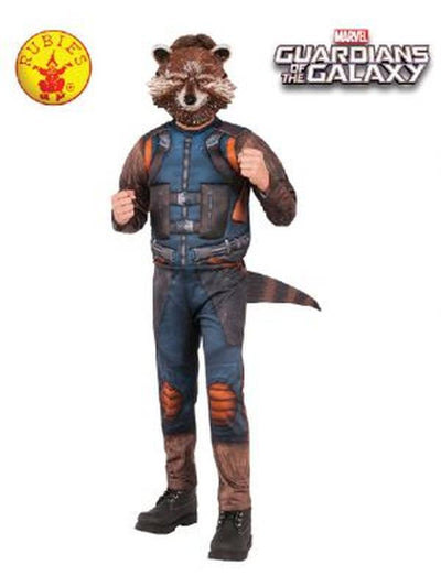 ROCKET RACCOON COSTUME, CHILD - SIZE SMALL 3-4YRS-Costumes - Boys-Jokers Costume Mega Store