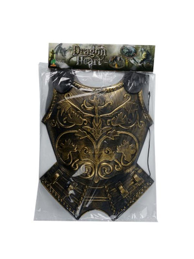 Roman Chest Armour w/ Cape-Costumes - Mens-Jokers Costume Mega Store