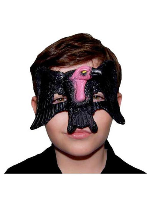 **Rubber Eye Mask - Vulture***-Masks - Halloween-Jokers Costume Hire and Sales Mega Store