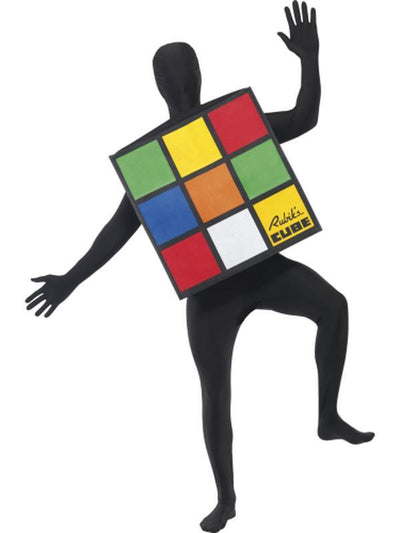 Rubik's Cube Unisex Costume-Costumes - Mens-Jokers Costume Hire and Sales Mega Store