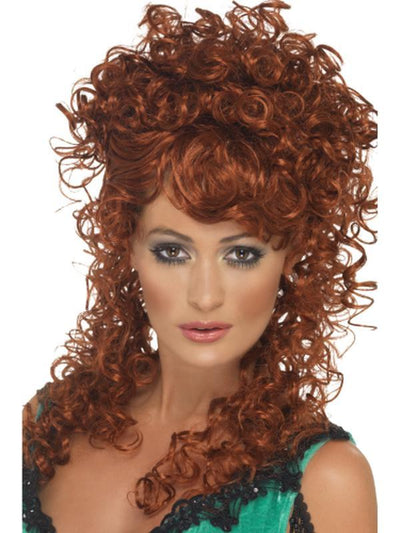 Saloon Girl Wig-Wigs-Jokers Costume Mega Store