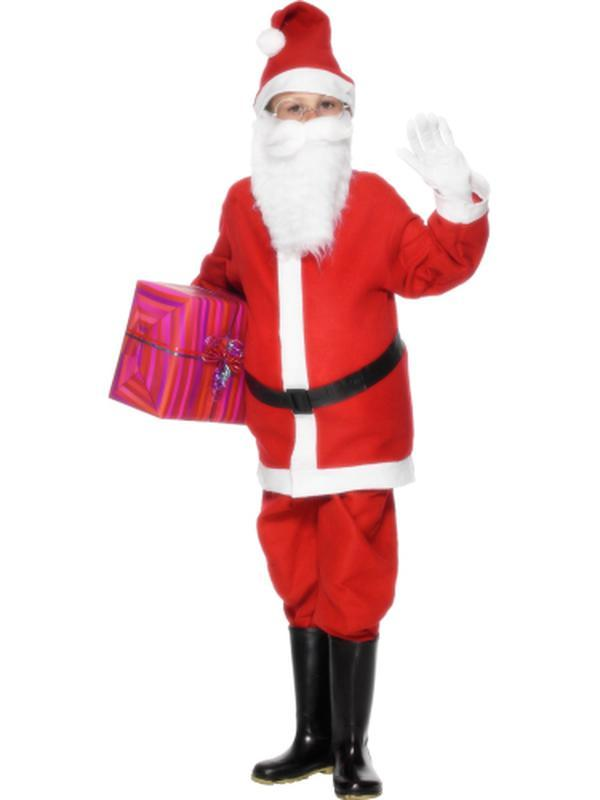 Santa Boy Costume-Jokers Costume Mega Store