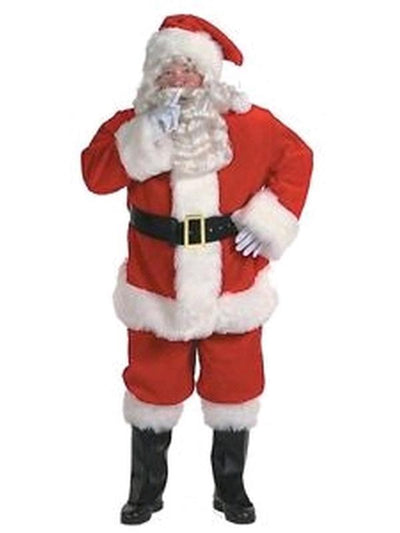 Santa Claus Costume - Size Plus-Jokers Costume Mega Store