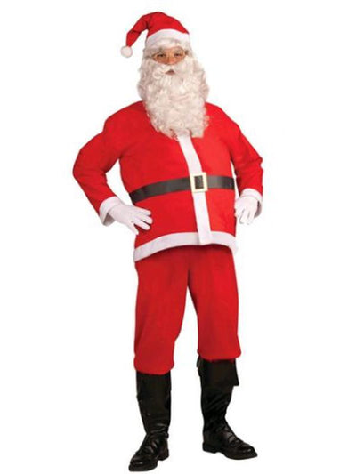 Santa Claus Costume - Size Std-Jokers Costume Mega Store