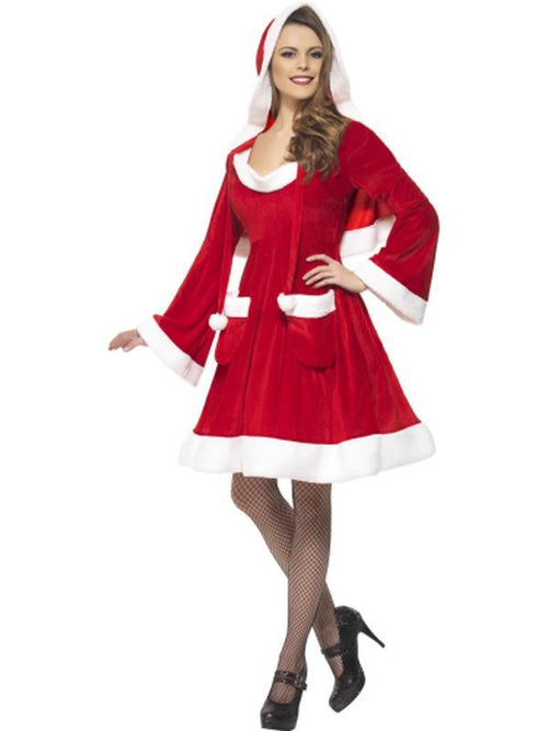Santa in the City Costume-Costumes - Women-Jokers Costume Hire and Sales Mega Store