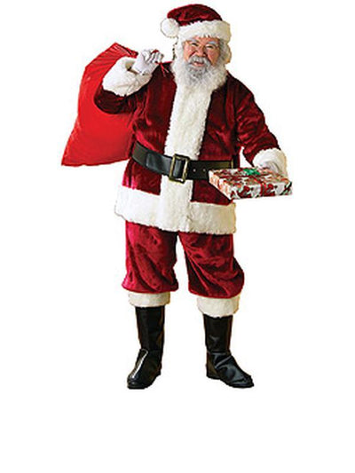 Santa Suit - Deluxe Size Xl-Jokers Costume Mega Store