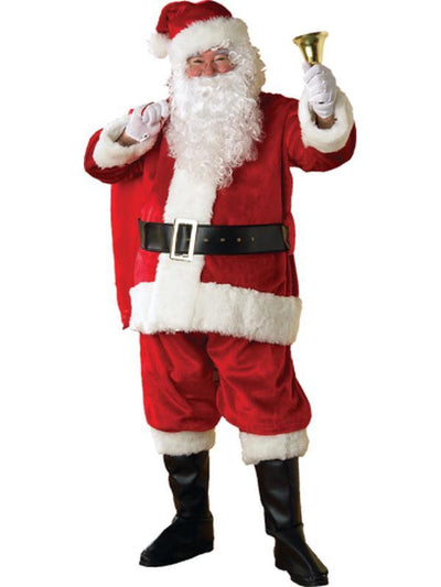 Santa Suit - Plush Size Std.-Jokers Costume Mega Store