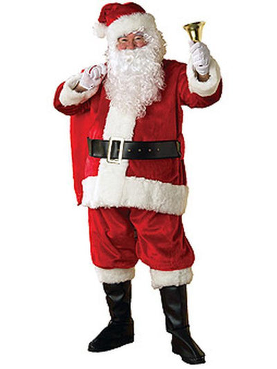 Santa Suit - Plush Size Xl.-Jokers Costume Mega Store