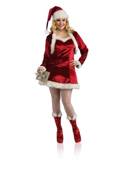 Santa'S Helper - Size Plus-Costumes - Women-Jokers Costume Hire and Sales Mega Store