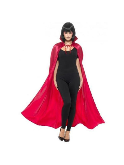 Satin Devil Cape-Costume Accessories-Jokers Costume Hire and Sales Mega Store