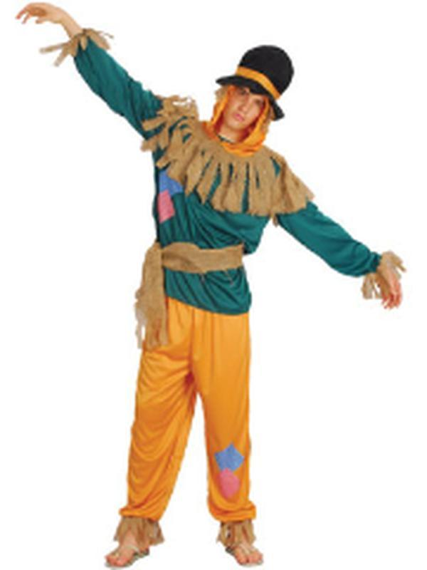 **Scarecrow - Adult - Large-Costumes - Mens-Jokers Costume Hire and Sales Mega Store