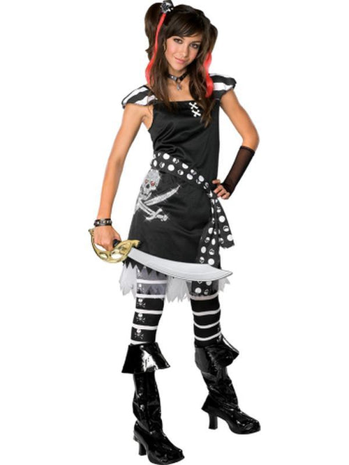 Scarlet Teen - Size S-Costumes - Girls-Jokers Costume Hire and Sales Mega Store