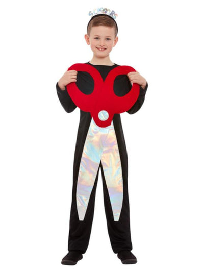 Scissors Costume, Black & Red-Costumes - Girls-Jokers Costume Mega Store