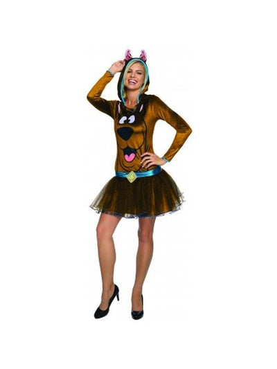 Scooby Female Costume - Size Xs-Costumes - Women-Jokers Costume Hire and Sales Mega Store