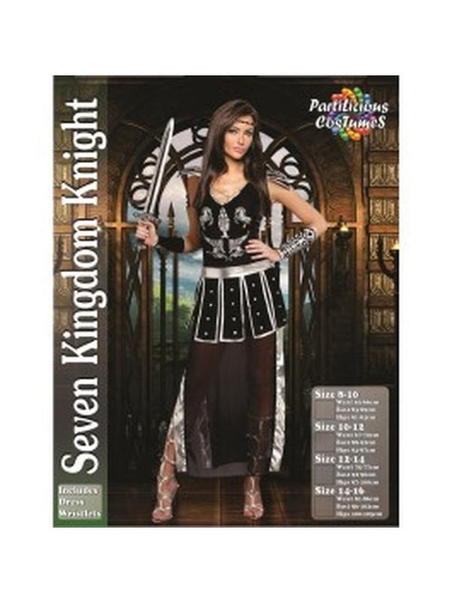 Seven Kingdom Knight-Costumes - Women-Jokers Costume Hire and Sales Mega Store