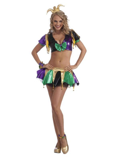 Sexy Jester Costume - Size Std-Costumes - Women-Jokers Costume Hire and Sales Mega Store
