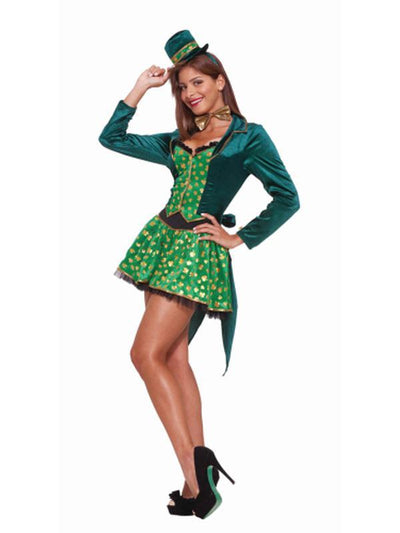 Sexy Leprechaun Costume - Size Xs/S-Costumes - Women-Jokers Costume Hire and Sales Mega Store