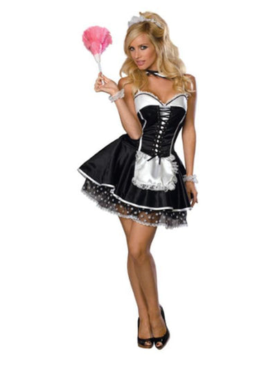 Sexy Maid Secret Wishes Costume - Size S-Costumes - Women-Jokers Costume Hire and Sales Mega Store