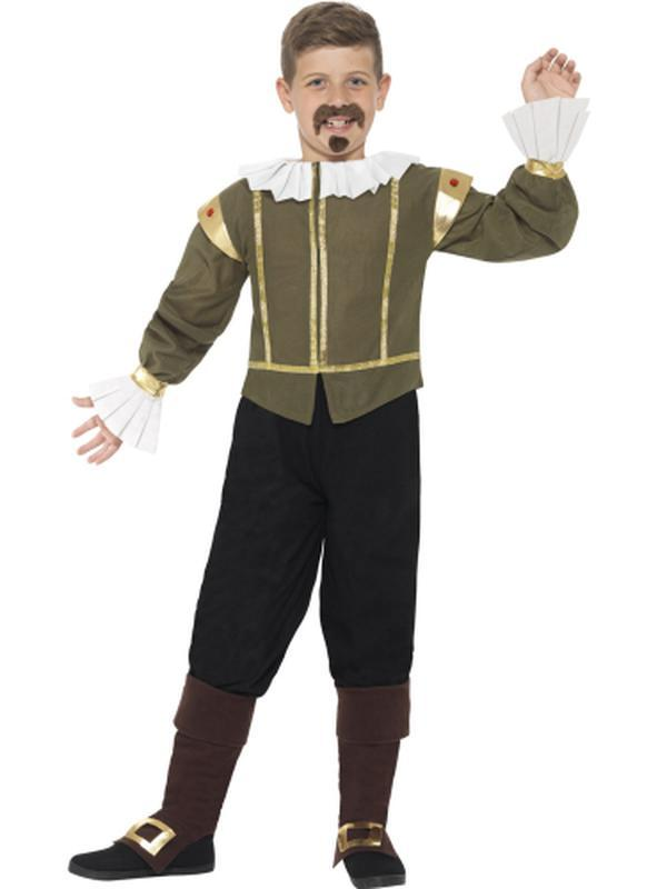Shakespeare Costume-Costumes - Boys-Jokers Costume Hire and Sales Mega Store