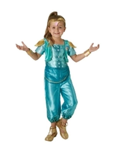 Shine Classic Costume- Size 3-5-Costumes - Girls-Jokers Costume Hire and Sales Mega Store
