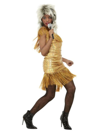 Simply The Best Legend Tina Costume, Gold-Costumes - Women-Jokers Costume Mega Store