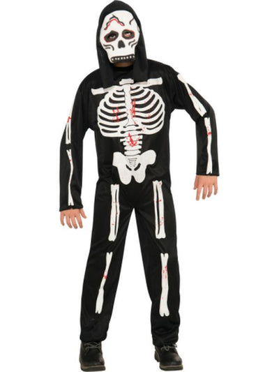 Skeleton - Size M-Costumes - Boys-Jokers Costume Hire and Sales Mega Store
