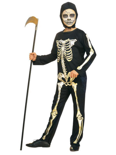 Skeleton - Size Small-Costumes - Boys-Jokers Costume Hire and Sales Mega Store
