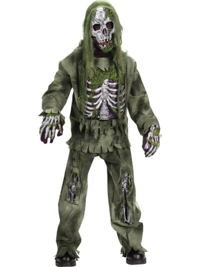 Skeleton Zombie Child Costume-Costumes - Boys-Jokers Costume Hire and Sales Mega Store
