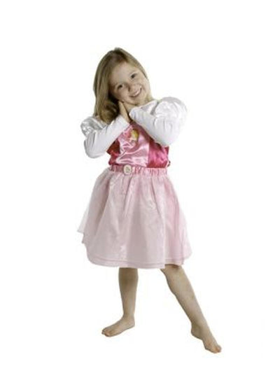 Sleeping Beauty Tutu & Vest - Size 3-5-Costumes - Girls-Jokers Costume Hire and Sales Mega Store