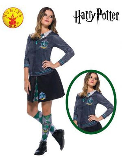 SLYTHERIN COSTUME TOP ADULT - SIZE Medium-Costumes - Women-Jokers Costume Mega Store