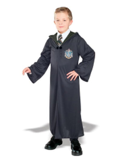 Slytherin Robe - Size S-Costumes - Boys-Jokers Costume Hire and Sales Mega Store