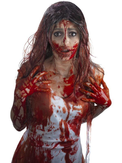 Smiffys Make-Up FX, Blood Bottle, Red - 3.78 Litres-Make up and Special FX-Jokers Costume Mega Store
