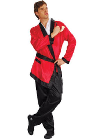 Smoking Jacket - Adult - Medium-Costumes - Mens-Jokers Costume Hire and Sales Mega Store