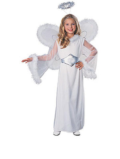 Snow Angel Costume - Size L-Costumes - Girls-Jokers Costume Hire and Sales Mega Store