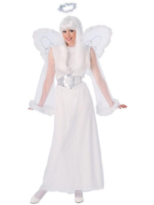 Snow Angel Costume - Size Std-Costumes - Women-Jokers Costume Hire and Sales Mega Store