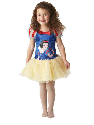 Snow White Ballerina Dress - 18-36-Costumes - Girls-Jokers Costume Hire and Sales Mega Store