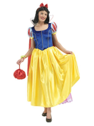 Snow White Deluxe Adult Costume - Size M-Costumes - Women-Jokers Costume Hire and Sales Mega Store
